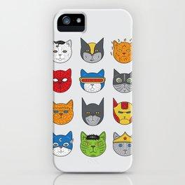 Super Cats iPhone Case