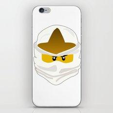 Ninjago Face Zane iPhone & iPod Skin