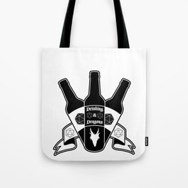 Drinking & Dragons Tote Bag