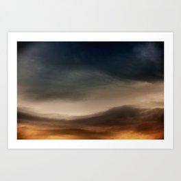 Gloomy Sky 0018 Art Print
