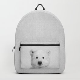 Polar Bear - Black & White Backpack