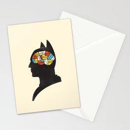Bat Phrenology Stationery Cards