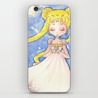 serenity iPhone & iPod Skins featuring Serenity by Lilolilosa