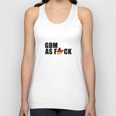 GDM AS F*CK Unisex Tank Top