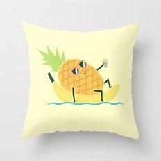 Summer Chillin Throw Pillow