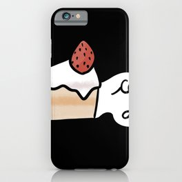 Cake Day Cute Coffee Dates Cute Cake Lovers Gift Strawberry Cake Shortcake Yummy Pastry Delicious iPhone Case