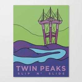 Slip N' Slide Canvas Print