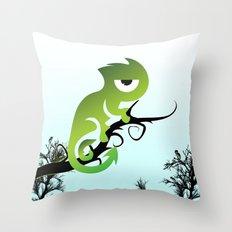 Baby Chameleon Throw Pillow