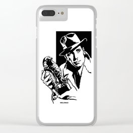 The Maltese Falcon by Peter Melonas Clear iPhone Case