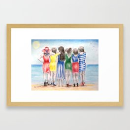 Thirty years later Framed Art Print