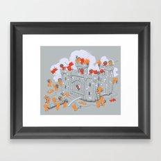 The Siege Framed Art Print