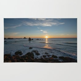 Sunset on the Oregon Coast Rug