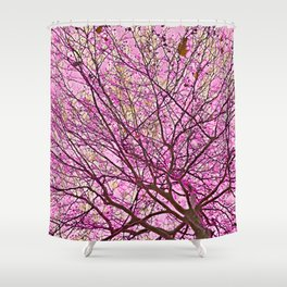 Fragmented Soul (pink) Shower Curtain
