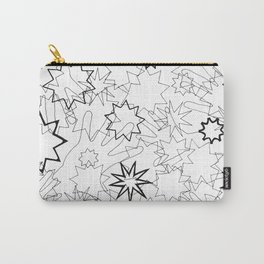 Hands and Stars Carry-All Pouch