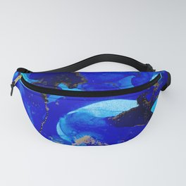 Deep Blue Fanny Pack