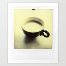 Cup of Coffee Art Print