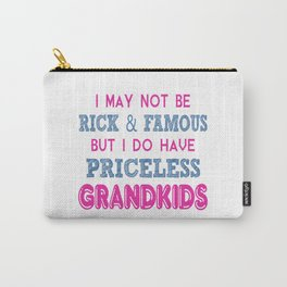 Priceless Grandkids Carry-All Pouch