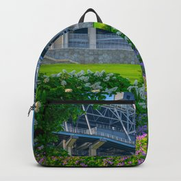 State College Football Stadium Flowers Backpack