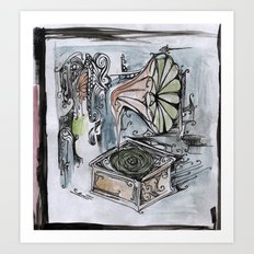 phonographic Art Print