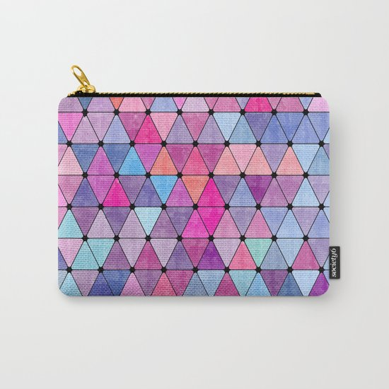 Lovely geometric Pattern VIV Carry-All Pouch