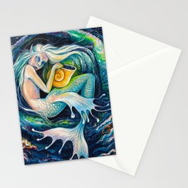 Sweet Dreams (Little Mermaid) Stationery Cards