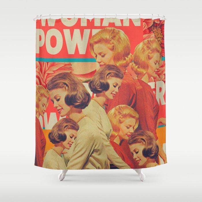 Woman Power Shower Curtain