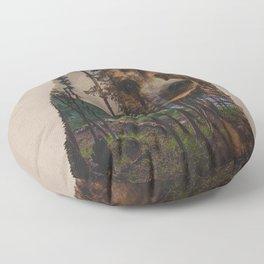 Bear Lake Floor Pillow