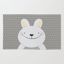 Cute Rabbit Rug