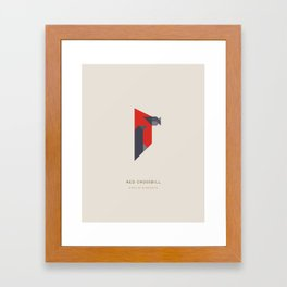 Red Crossbill Framed Art Print