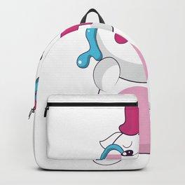 unicorn cry unicorn sad howl girl tears Backpack