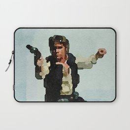 Solo Shot First (Abstract Watercolor) Laptop Sleeve