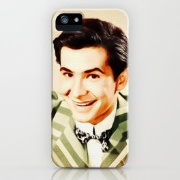 Anthony Perkins, Vintage Actor iPhone Case