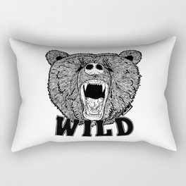 Bear Wild Rectangular Pillow