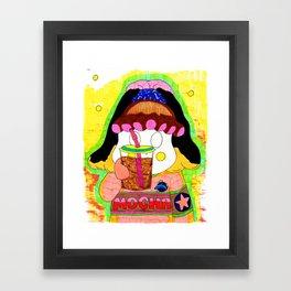 Mocha Framed Art Print