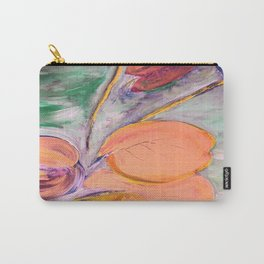 leaves on the pond Carry-All Pouch