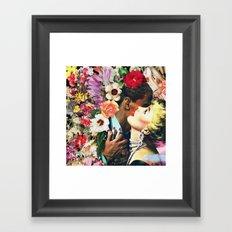 Floral Bed 3 Framed Art Print