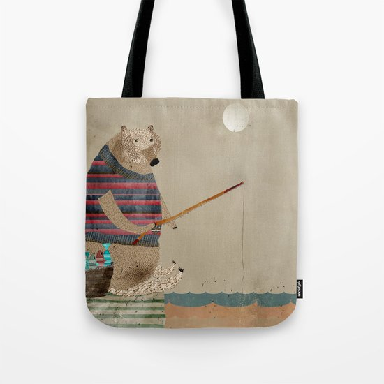 Fish for tea tote bag by society6 for Fish tea bags