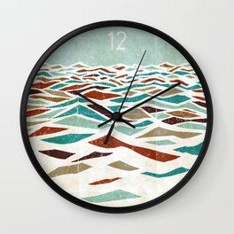 Sea Recollection Wall Clock