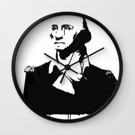 George Washingtear Wall Clock