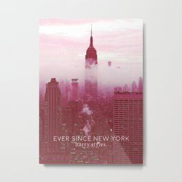 HARRY STYLES - Ever Since New York Art Metal Print