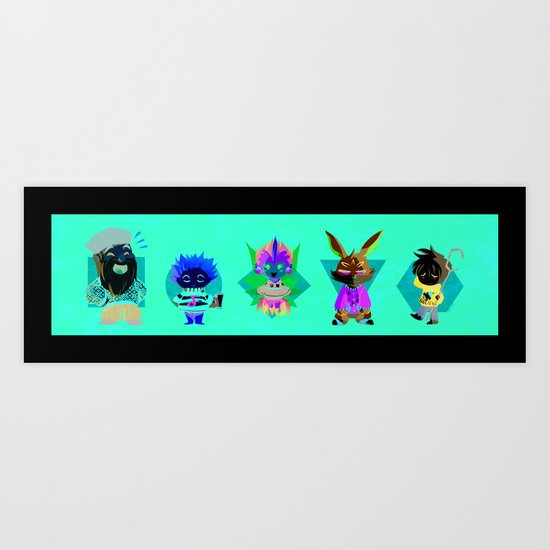 ROTG- Rise of the Sweaters Art Print