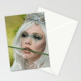 Melanie goth princess Stationery Cards