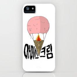 Hot Ice Cream Baloon iPhone Case