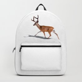 The Buck in Snow (Color) Backpack