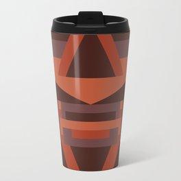 Dusky Earth Geometric Travel Mug
