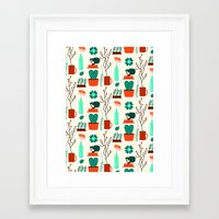 zen Framed Art Prints featuring Zen by Ana Types Type