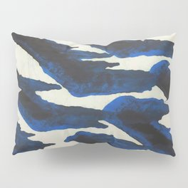 Blue Print Pillow Sham