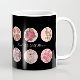 Hearts Like Wild Flowers Coffee Mug