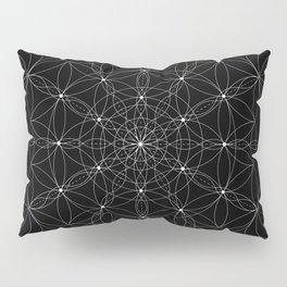 Ascension - White on Black Version Pillow Sham