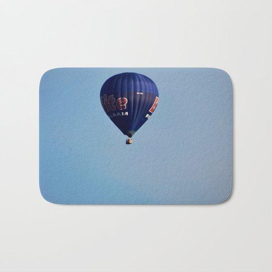 Blue air balloon Bath Mat